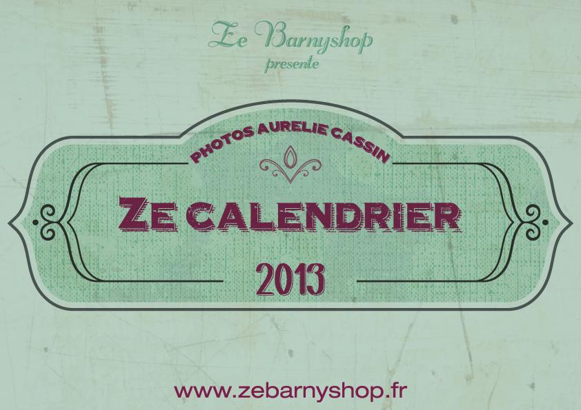 Calendrier Ze Barny Shop