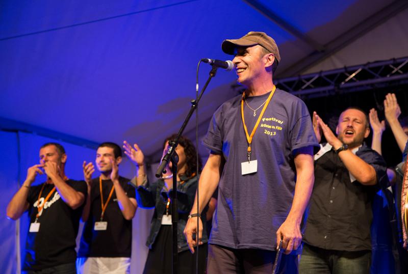 festival artistes en fete, thierry ousty, aurelie cassin, mas d'agenais
